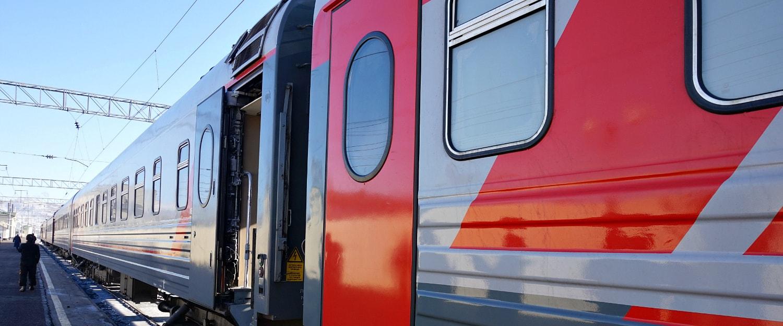 Trans-Siberian Train in Russia